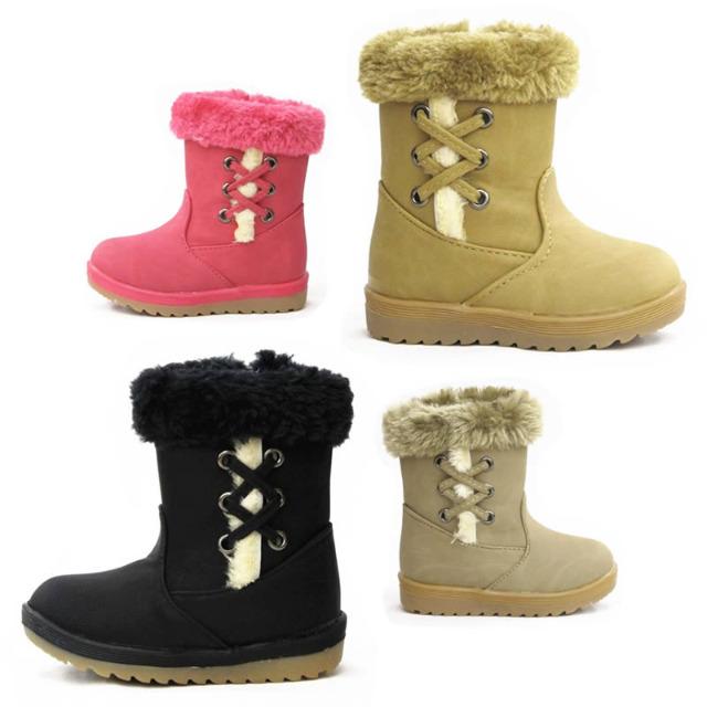 kinder fell stiefel schuhe boots gr 20 25 auf. Black Bedroom Furniture Sets. Home Design Ideas