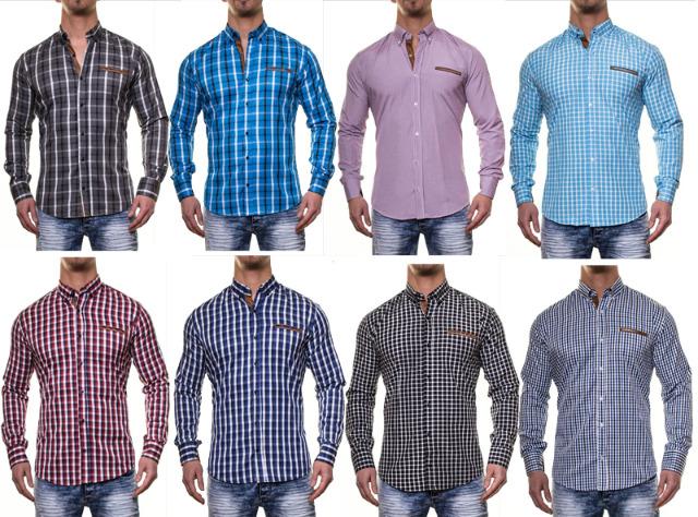 Herrenhemden in aktuellem Design!