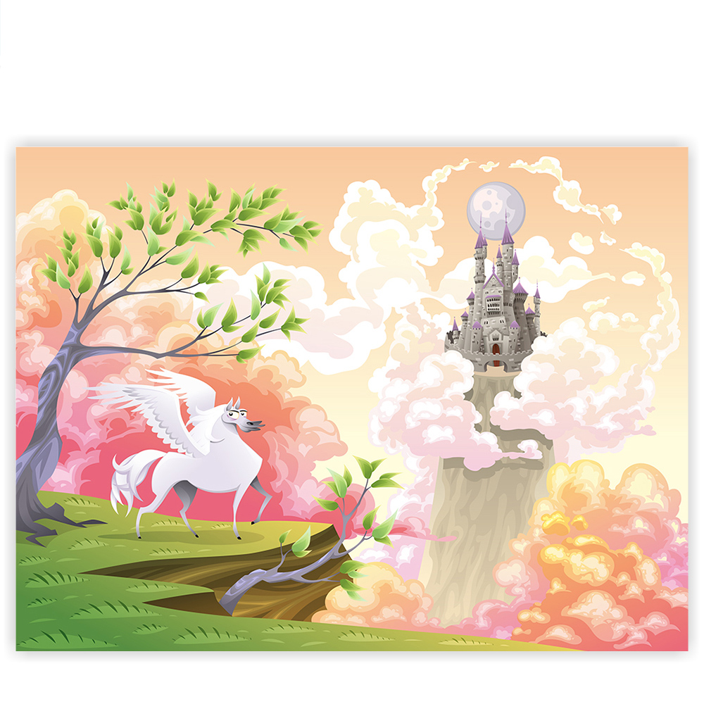Leinwandbild 100x75 cm premium plus leinwand bild - Kunstdruck kinderzimmer ...