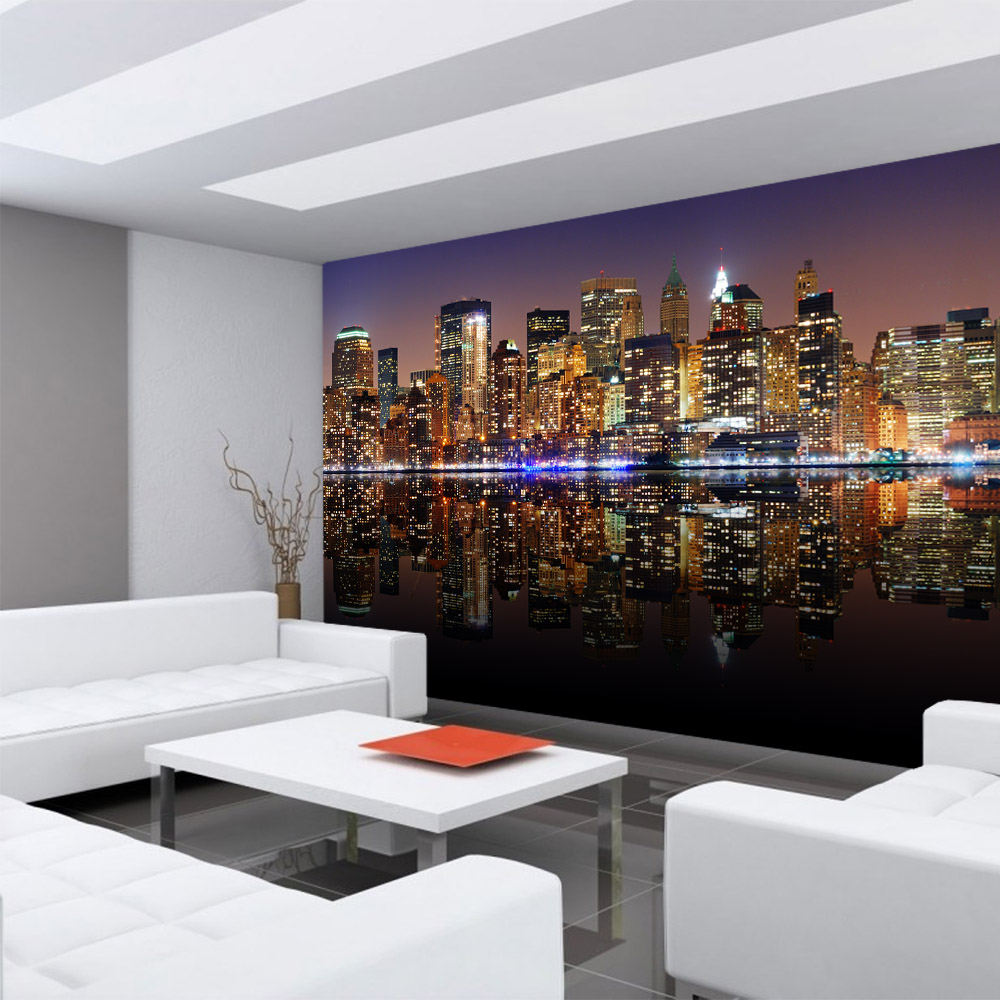 vlies fototapete 300x210 cm premium plus wand foto tapete wand bild vliestapete new york. Black Bedroom Furniture Sets. Home Design Ideas