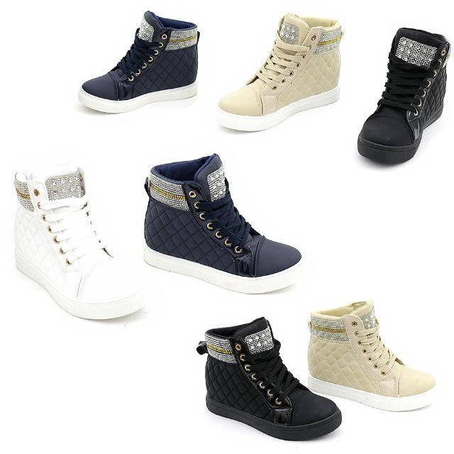 size 40 a37fa 5d1e9 Damen Freizeit Sport Schuhe Sneaker Boots Gr. 36-41 je 10,95 ...