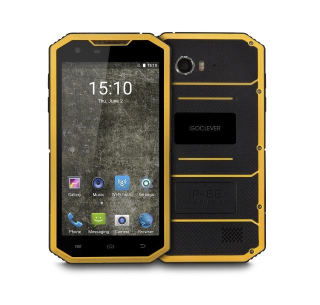 goclever quantum 5 500 rugged outdoor smartphone handy ip68 5 zoll quadcore dual sim lte auf. Black Bedroom Furniture Sets. Home Design Ideas