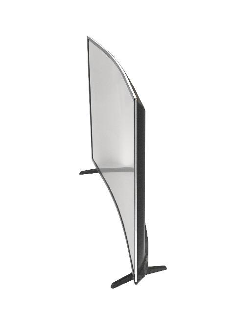 denver led 5570t2cs 55 zoll 4k uhd led curved fernseher mit tripletuner dvb t2 c s2 hdmi. Black Bedroom Furniture Sets. Home Design Ideas