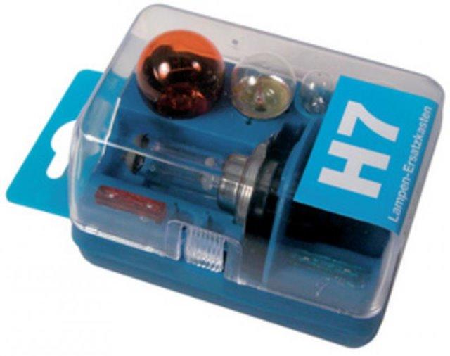 Unitec H7 KFZ-Lampenersatzset 7-teilig