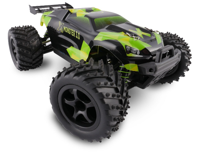 x monster truck ferngesteuertes rc auto 45 km h 1 18 2. Black Bedroom Furniture Sets. Home Design Ideas