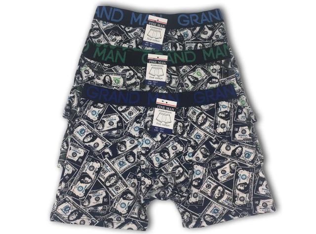 42407391d4 Herren Boxershorts Boxer Slip Muster Dollar Geld Scheine Basic ...