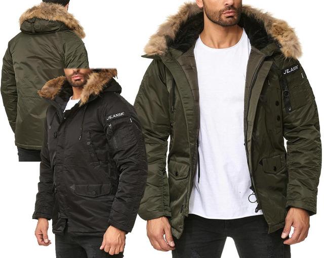 cheap for discount aec54 5171f Herren Men Trend Jacke Mantel Bomberjacke Winterjacke ...