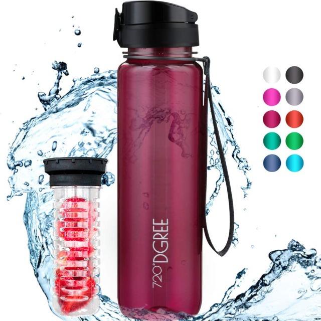 Overstock Grade A - Gym Bottles - Brand: 720°DGREE - EXPORT ONLY